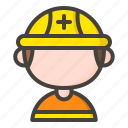 rescue, emergency, medical, rescuer icon