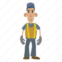 construct, construction, job, road, street, work, worker icon