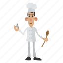 chef, cook, food, kitchen, man, plate, restaurant