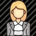avatar, female, judge, profession