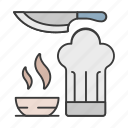 career, chef, cook, food, knife, profession icon