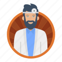 surgeon, anesthesiologist, resident, doctor, checkup, male