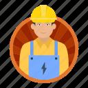 electrician, worker, electric, man, technician, expert