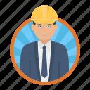civil engineer, worker, builder, employee, businessman
