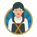 female, worker, laborer, carpenter, lady