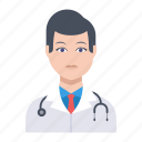 avatar, doctor, male, man, surgeon icon