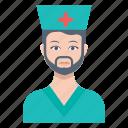 avatar, doctor, male, man, medic