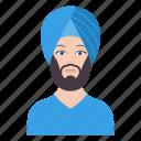 avatar, father, male, man, professional icon