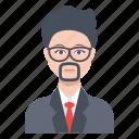 avatar, male, man, professor, teacher