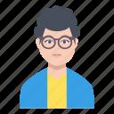 avatar, child, male, man, professional icon