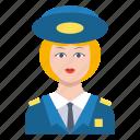 female, guard, lady, police, women