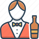 barman, bartender, male, man, professional, waiter icon