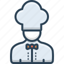 avatar, chef, cook, male, person icon