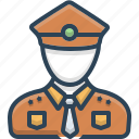 avatar, man, person, police, policeman icon