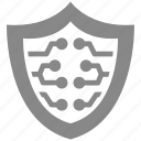 digital, protect, protection, secure, security, shield icon