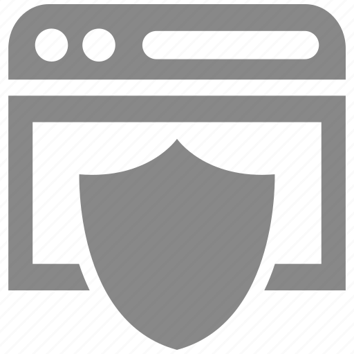 browser, internet, online, protection, secure, security, web icon