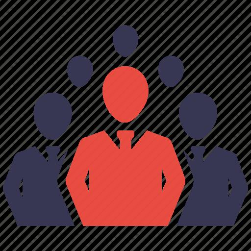 business, business icon, businessman, communication, leadership icon