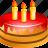 birthday, cake, celebration, christmas, gift, holiday, present icon