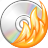 burn, cd, disc, music, player icon