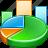 chart, charts, graph, statistics icon