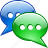 bubble, chat, talk, voice icon