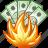 bankrupt, burn, damage, danger, fire, hot, problem icon