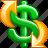 cash, money, turnover icon