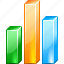 analytics, bar chart, diagram, finance, graph, report, statistics icon