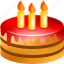 birthday, cake, celebration, christmas, gift, holiday, present icon