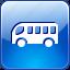 bus, station, transportation icon