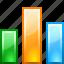 analytics, bar, bar chart, bar graph, chart, charts, graph, report, reports, statistics, stats, stock, up icon