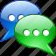 bubble, chat, talk, voice icon