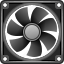 air cooler, air flow, computer fan, rotor, temperature control, weather, wind icon