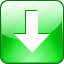 arrow, back up, backup, batch, button, charge, down, download, downloading, downloads, green, guardar, loading, save icon