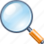 find, glass, magnifying, magnifying glass, search, zoom icon