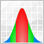 analysis, analytics, chart, charts, distribution, distributor, gaussian icon