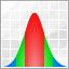 analysis, analytics, chart, charts, distribution, distributor, gaussian icon