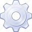cog, config, desktop options, gear, preferences, settings, system icon