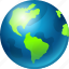 earth, globe, internet, web, world icon