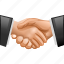 agreement, business contacts, communication, contract, friend hands, handshake, support icon