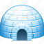 ice, ice home, ice house, igloo icon