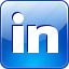 linkedin, logo, professional network, social, social network, square, squared icon