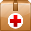baggage, box, delivery, drug store, drugs, first aid, health, healthcare, hospital, medical, medical product, medicine, pack, package, product, products, storage, transportation icon