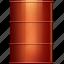 barrel, media, metal, social icon