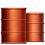 barrel, conservation, fuel, gasoline, oil barrels, petrol, petroleum icon