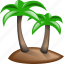 jorney, palm, palms, relax, trip icon