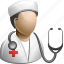 doc, doctor, female, hake, head, health, healthcare, hospital, md, medical, medical adviser, medicine, medico, nurse, physician, user, woman icon