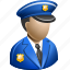office, officer, police icon