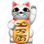 business, cash, chinese cat, kitty, money, prospepity, rich icon