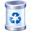 basket, clean, delete, dustbin, recycle bin, remove, trash icon
